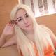 【美仑美奂自体脂肪填充】今天是白发魔女,biubiubiu~~~~买了准备万圣节cosplay玩的白假毛,刚拆开觉得质量...
