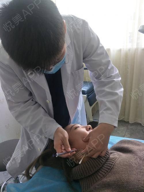 瘦脸针手术当天_瘦脸手术当天_面部轮廓手术当天_摇啊cono分享图片3