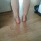 我的小腿谁看了都会以为是男人的腿,本来小腿就是那种特别厚重的类型,真的是汉子的身材配上一张妹子脸,看...