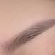 眉毛的样子很自然啊,这下早上省了我不少时间,又可以多墨迹一会再起床啦。 上色效果特别好,现...