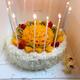 """""""今年的生日过的很开心,一家人热热闹闹的,比以往在酒店饭店里好多了,妈妈亲手下的厨,姐姐亲手做的蛋糕,家人朋友的辛福,真的..."""