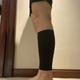 做完小腿神经阻断术15天啦,现在腓肠肌摸起来还是软的呢,腓肠肌一软下来,肌肉的轮廓就已经看不出来了,腓...