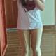 术后10天每个大象腿女孩都在梦想有朝一日可以瘦成竹竿腿,这辈子竹竿腿不可能了,节食运动我做不到,那么就...